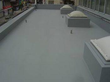 RC造 環境対応型アクリルゴム防水 改修工事
