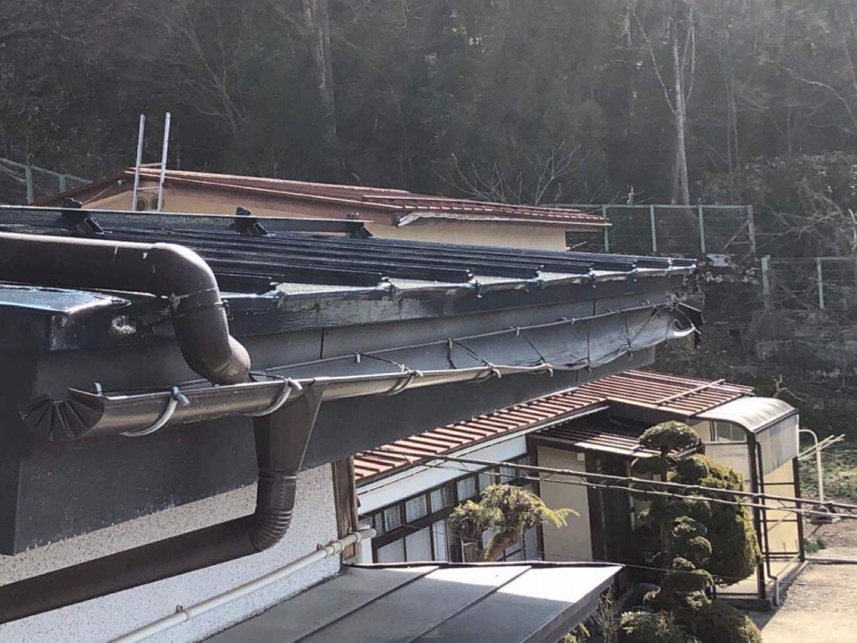 火災保険適用で雨樋修理❁